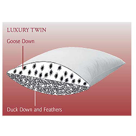 Brinkhaus The Luxury Twin Pillow, Hungarian Goose Down
